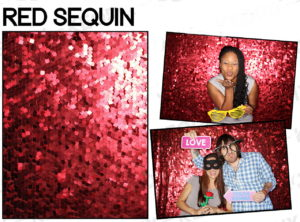 backdrop-red-sequin | Get Flashy Photo Booth | GetFlashyPhotoBooth.Com